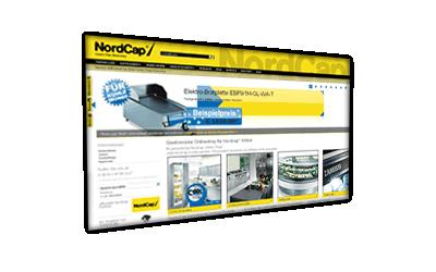 Nordcap Online Shop 2013